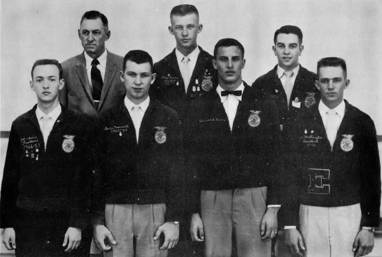 1957 1958 Officer Team