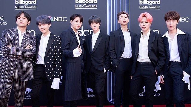 640px BTS on the Billboard Music Awards red carpet 1 May 2019
