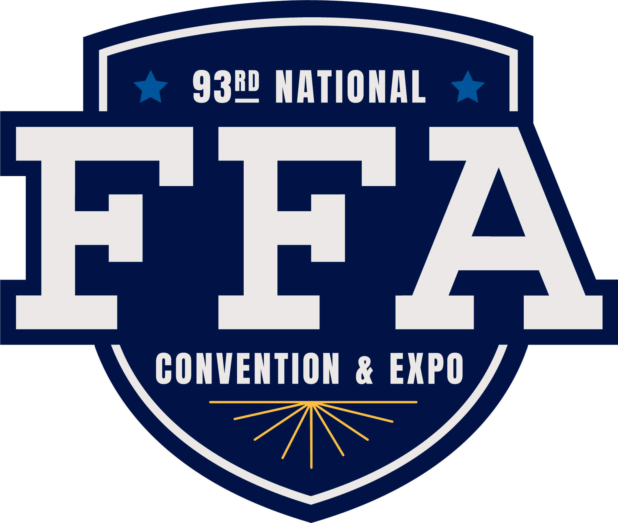 FFA Convention Logo Outlined Container CMYK